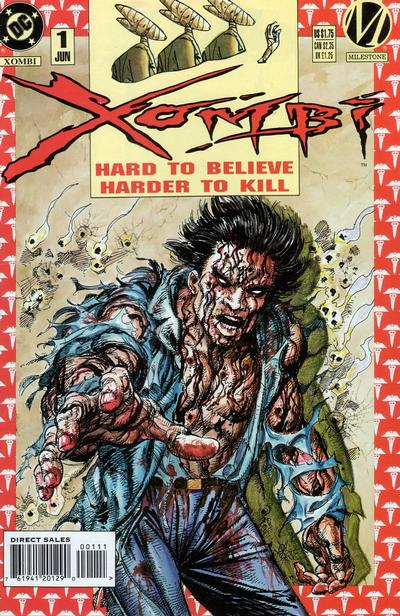Cover for Xombi (DC, 1994 series) #1 [Direct]