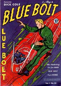 Cover Thumbnail for Blue Bolt (Novelty Press, 1940 series) #v1#12 [12]