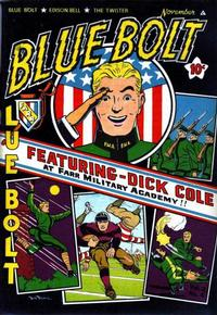 Cover Thumbnail for Blue Bolt (Novelty Press, 1940 series) #v2#6 [18]