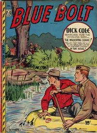 Cover Thumbnail for Blue Bolt (Novelty / Premium / Curtis, 1940 series) #v8#5 [83]