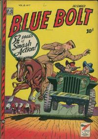 Cover Thumbnail for Blue Bolt (Novelty Press, 1940 series) #v8#7 [85]