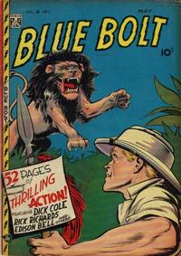 Cover Thumbnail for Blue Bolt (Novelty Press, 1940 series) #v8#12 [90]