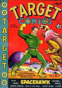 Cover Thumbnail for Target Comics (Novelty Press, 1940 series) #v1#7 [7]