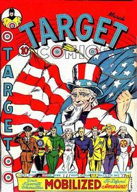 Cover Thumbnail for Target Comics (Novelty Press, 1940 series) #v2#1 [13]