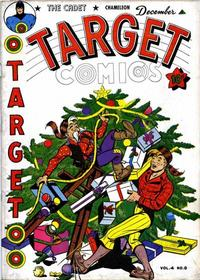 Cover for Target Comics (1940 series) #v4#8 [44]