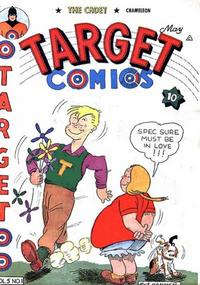 Cover Thumbnail for Target Comics (Novelty Press, 1940 series) #v5#1 [49]