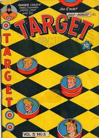 Cover for Target Comics (Novelty Press, 1940 series) #v5#3 [51]