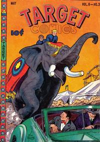 Cover Thumbnail for Target Comics (Novelty Press, 1940 series) #v8#3 [81]