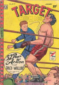 Cover for Target Comics (Novelty Press, 1940 series) #v8#11 [89]