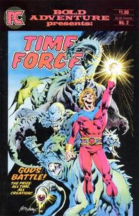 Cover Thumbnail for Bold Adventure (Pacific Comics, 1983 series) #2