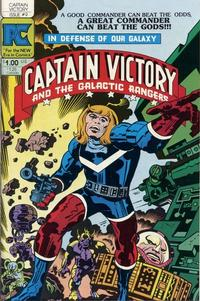 Cover Thumbnail for Captain Victory and the Galactic Rangers (Pacific Comics, 1981 series) #9