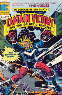Cover Thumbnail for Captain Victory and the Galactic Rangers (Pacific Comics, 1981 series) #10