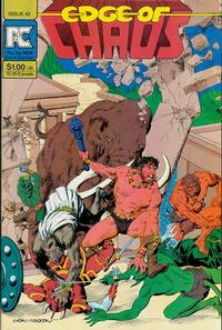 Cover Thumbnail for Edge of Chaos (Pacific Comics, 1983 series) #2