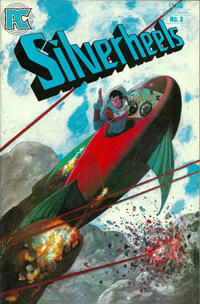 Cover Thumbnail for Silverheels (Pacific Comics, 1983 series) #3