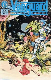Cover Thumbnail for Vanguard Illustrated (Pacific Comics, 1983 series) #3