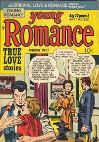 Cover Thumbnail for Young Romance (Prize, 1947 series) #v4#3 (27)