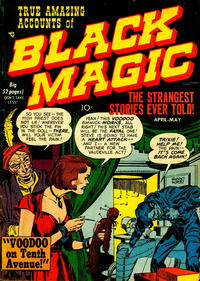 Cover for Black Magic (Prize, 1950 series) #v1#4 [4]