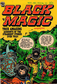 Cover Thumbnail for Black Magic (Prize, 1950 series) #v5#3 (33)