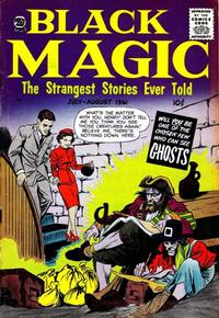 Cover Thumbnail for Black Magic (Prize, 1950 series) #v8#3 [48]