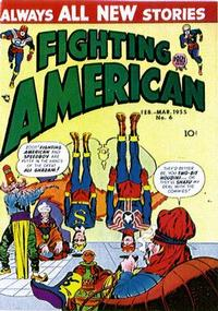 Cover Thumbnail for Fighting American (Prize, 1954 series) #v1#6 (6)