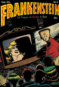 Cover Thumbnail for Frankenstein (Prize, 1945 series) #9