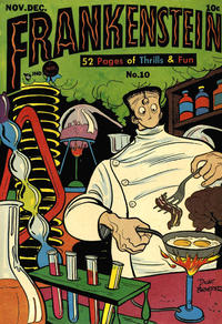 Cover Thumbnail for Frankenstein (Prize, 1945 series) #10