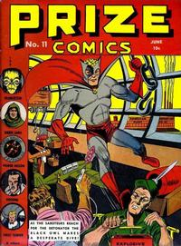 Cover Thumbnail for Prize Comics (Prize, 1940 series) #v1#11 (11)