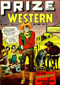 Cover Thumbnail for Prize Comics Western (Prize, 1948 series) #v8#2 (75)