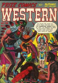 Cover Thumbnail for Prize Comics Western (Prize, 1948 series) #v10#2 (87)