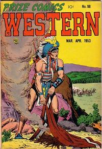 Cover Thumbnail for Prize Comics Western (Prize, 1948 series) #v12#1 (98)