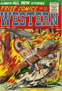 Cover Thumbnail for Prize Comics Western (Prize, 1948 series) #v14#5 (114)