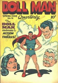 Cover Thumbnail for Doll Man (Quality Comics, 1941 series) #16