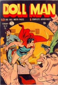 Cover for Doll Man (1941 series) #32