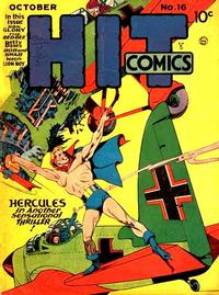 Cover for Hit Comics (Quality Comics, 1940 series) #16