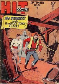Cover Thumbnail for Hit Comics (Quality Comics, 1940 series) #54
