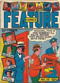 Cover Thumbnail for Feature Comics (Quality Comics, 1939 series) #25