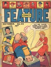 Cover Thumbnail for Feature Comics (Quality Comics, 1939 series) #49