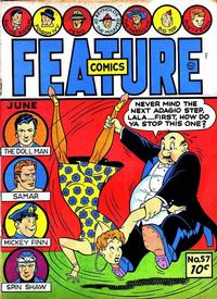 Cover Thumbnail for Feature Comics (Quality Comics, 1939 series) #57