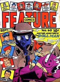 Cover Thumbnail for Feature Comics (Quality Comics, 1939 series) #60