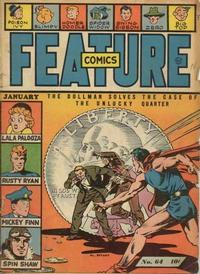 Cover Thumbnail for Feature Comics (Quality Comics, 1939 series) #64