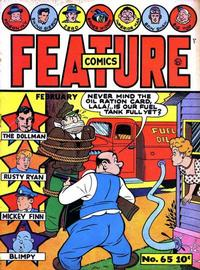 Cover Thumbnail for Feature Comics (Quality Comics, 1939 series) #65