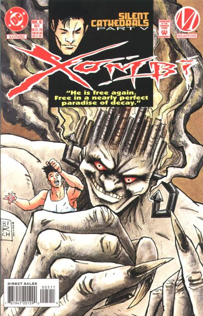 Cover for Xombi (DC, 1994 series) #5