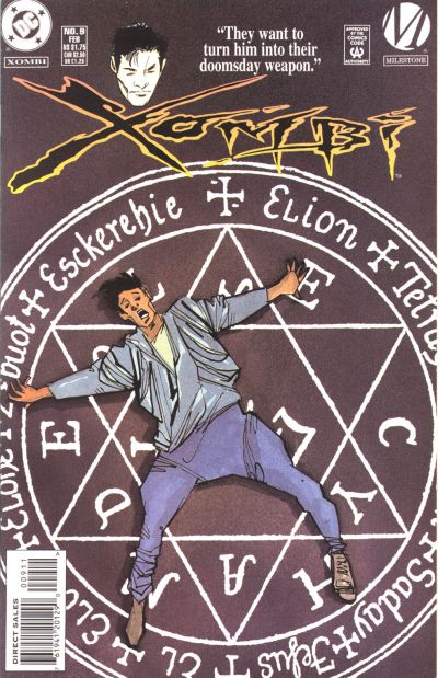 Cover for Xombi (DC, 1994 series) #9