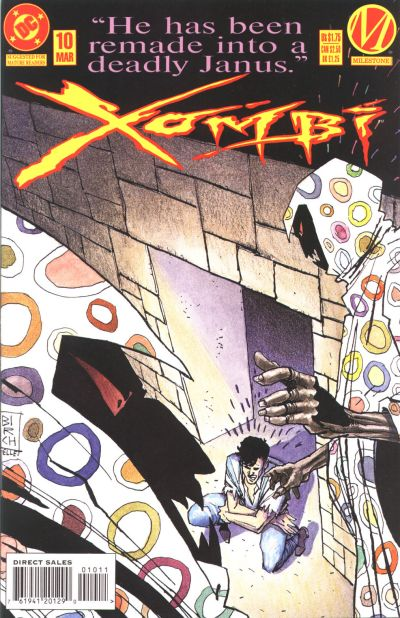 Cover for Xombi (DC, 1994 series) #10