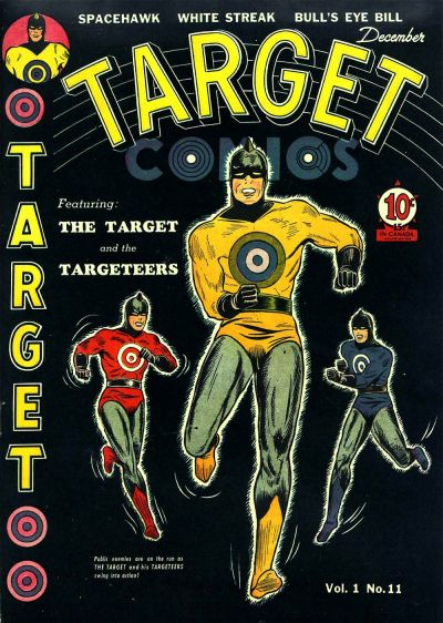 Cover for Target Comics (Novelty / Premium / Curtis, 1940 series) #v1#11 [11]