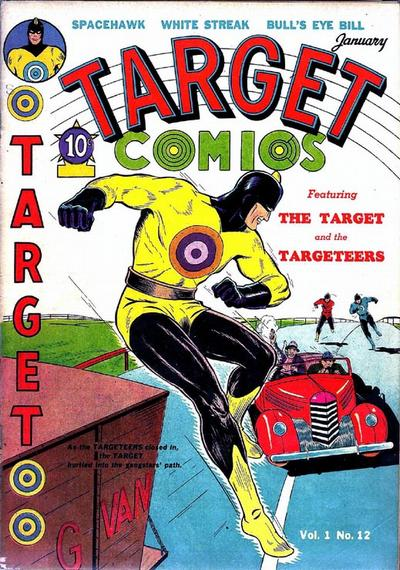 Cover for Target Comics (Novelty / Premium / Curtis, 1940 series) #v1#12 [12]