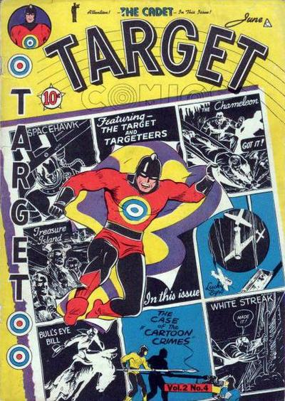 Cover for Target Comics (Novelty Press, 1940 series) #v2#4 [16]