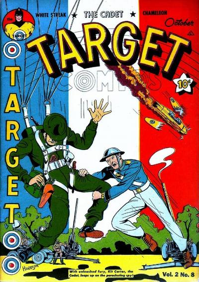 Cover for Target Comics (Novelty Press, 1940 series) #v2#8 [20]