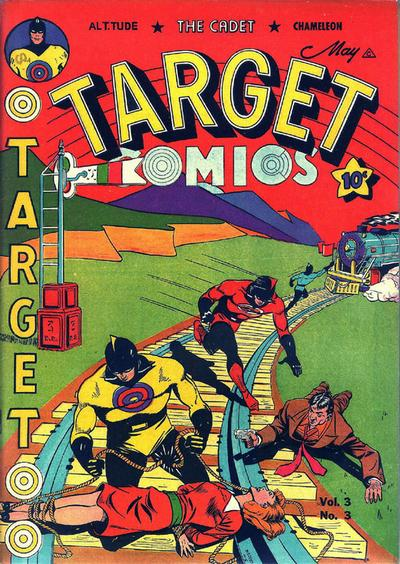 Cover for Target Comics (Novelty Press, 1940 series) #v3#3 [27]