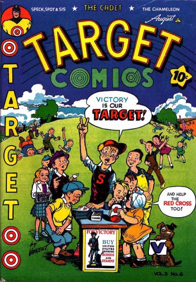 Cover for Target Comics (Novelty Press, 1940 series) #v3#6 [30]